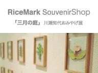 RiceMark SouvenirShop「三月の庭」川瀬知世おみやげ展
