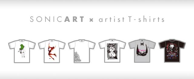 SONICART T-SHIRT DEBUT !! (3/2〜3/17)