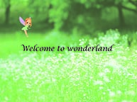 「welcome to wonderland」(10/14~10/19)