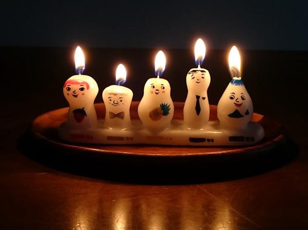 pichio candle Fair「カラフルで小さなキャンドルたち」(1/30〜2/12)